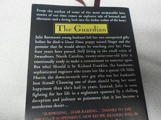Reads: The Guardian by Nicholas Sparks