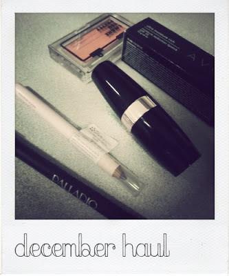 Last December Make up Haul