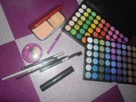 Day 9 – A picture of your make up Collection