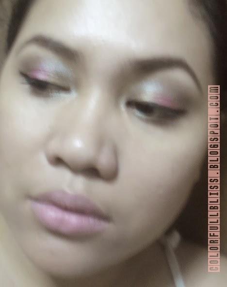 Eye Makeup: Florals