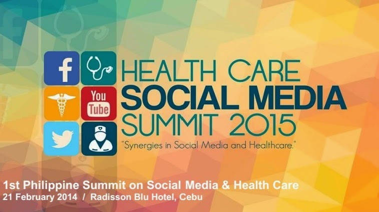 First Philippine Summit on Health Care and Social Media 2015