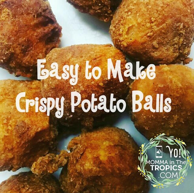 Recipe Alert: Crispy Potato Balls