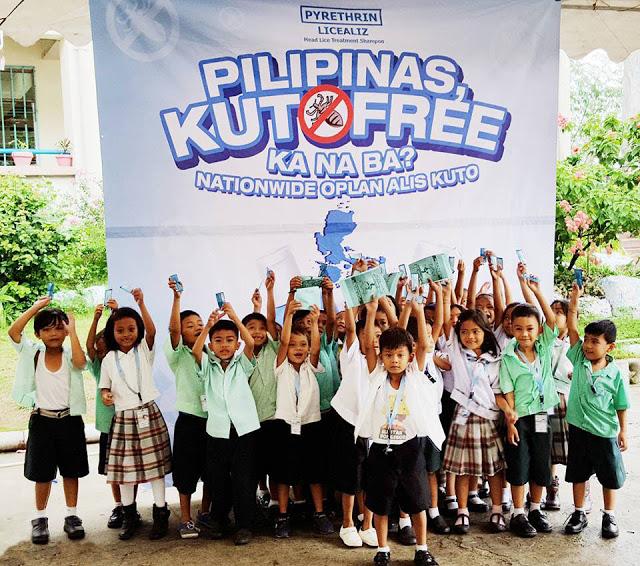 Licealiz Battling Lice Infestation Kilusang Kontra-Kuto