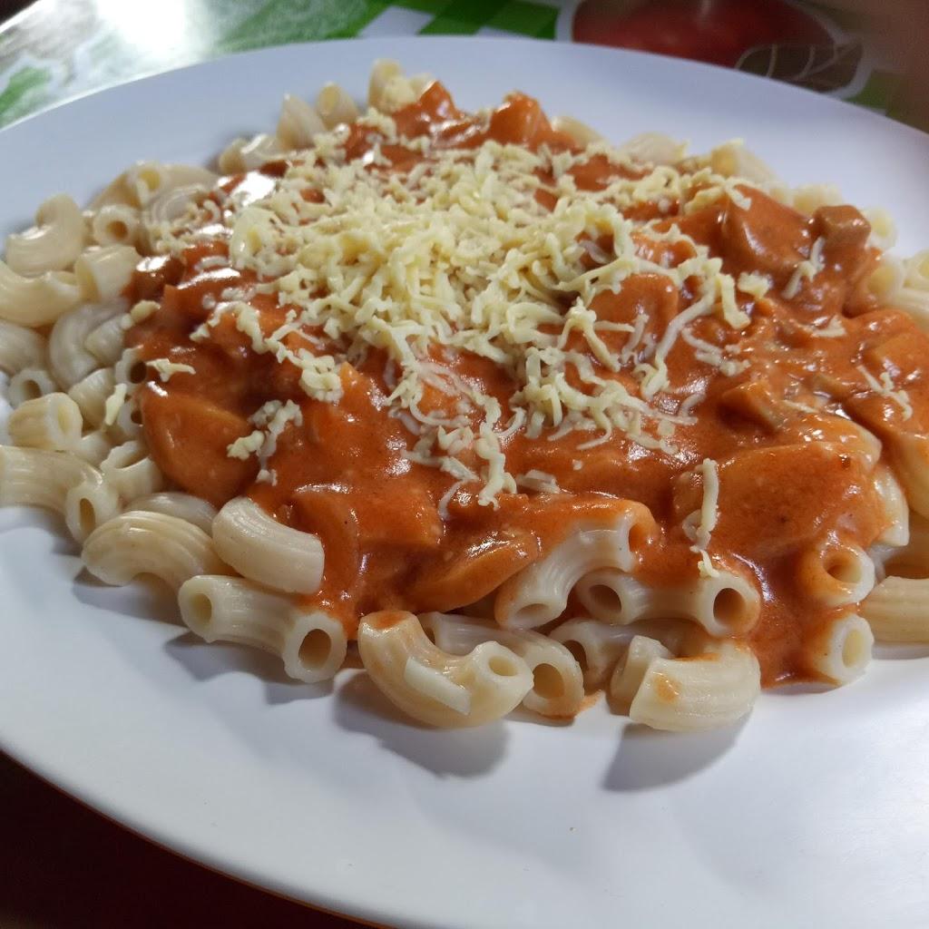 Creamy Macaroni Mushroom Pasta Recipe