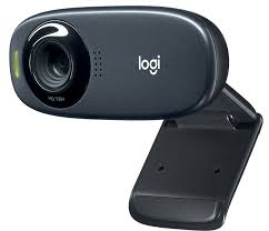 Logitech C310 HD Webcam, 720p Video with Lighting Correction, Widescreen, built-in noise-reducing mic, 5 foot cable
