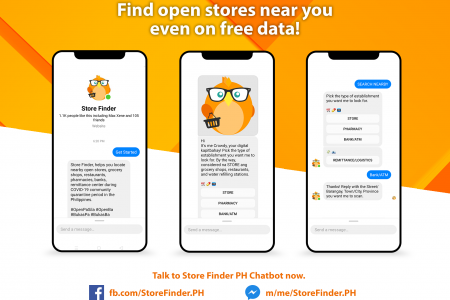 Store Finder PH Chatbot Photo