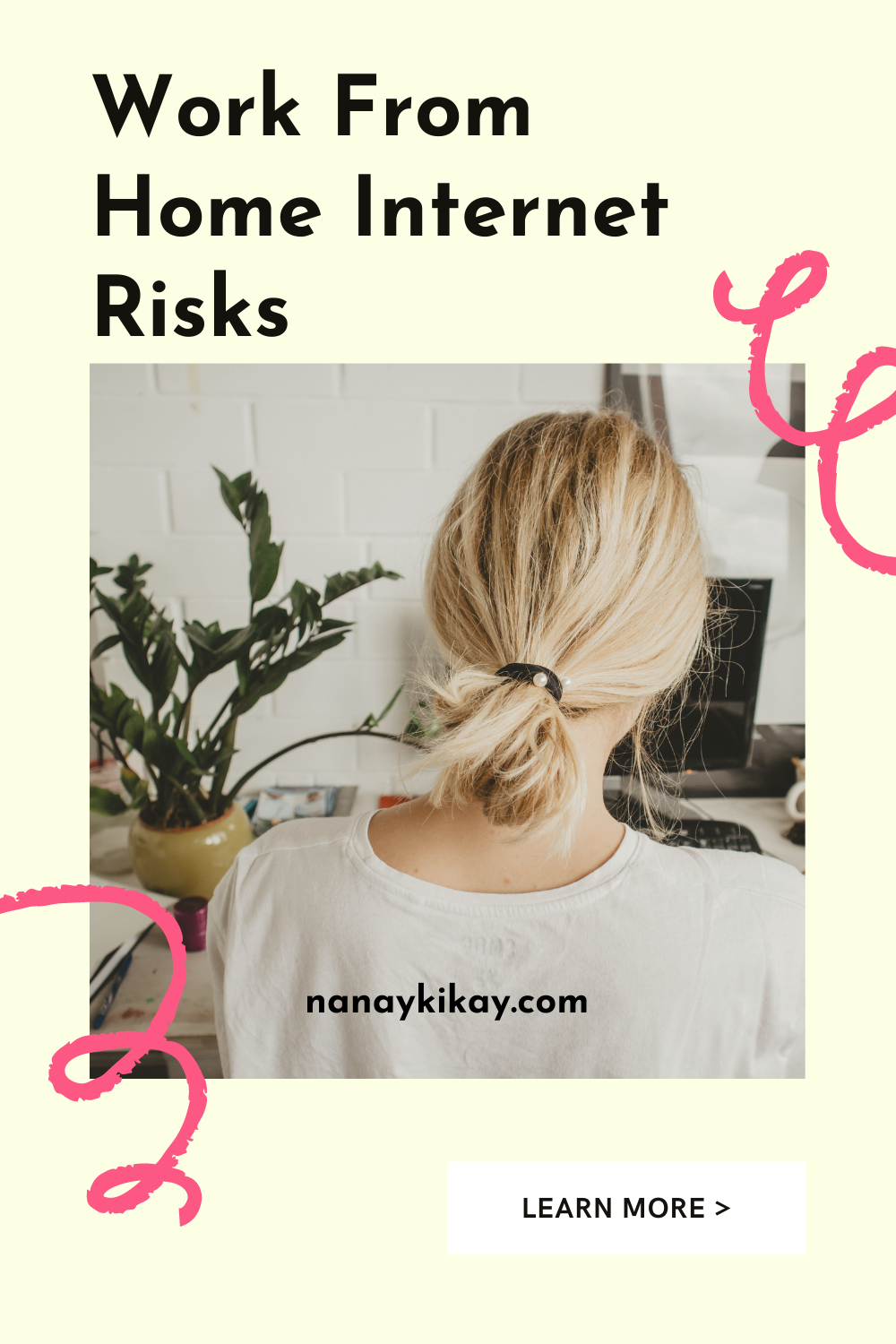 work from home internet risks